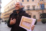 Dani Rotstein explaining Jewish history of Majorca Island