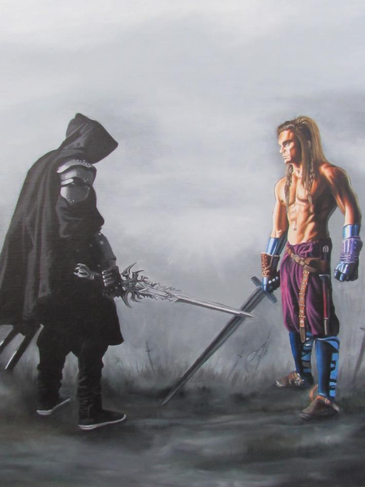 Duel de guerriers