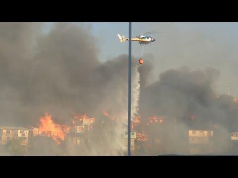 Valparaíso: Incendio afecta a 245 viviendas en vísperas de Navidad  25 dic. 2019