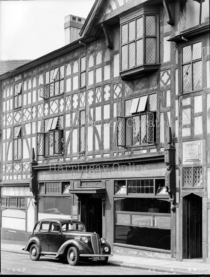 Tudor Chambers, River Park Road, Wood Green, 1953