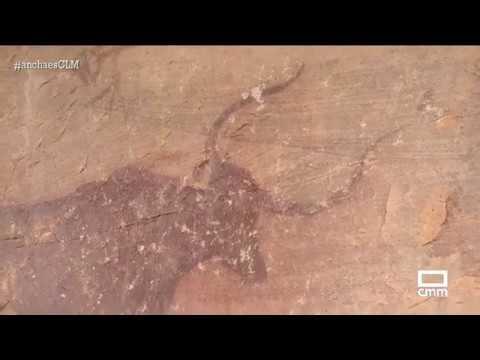 Pinturas rupestres de Villar del Humo - Ancha es CLM - CMM