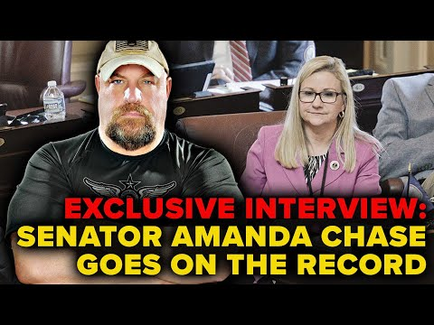 EXCLUSIVE!!! Douglas Interviews Senator Amanda Chase