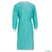 wholesale sky lark blue long nurse dress