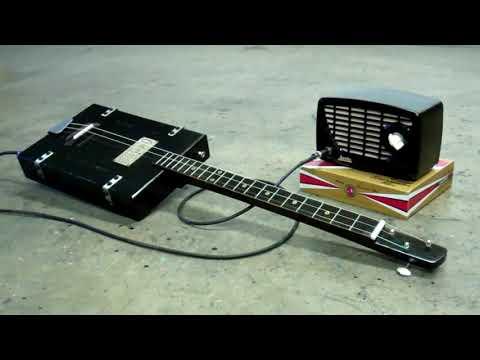 Cigar Box - 3 String Guitar - The Circuit Rider -