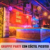 GRUPPIT PARTY CON CÓCTEL PICOTEO