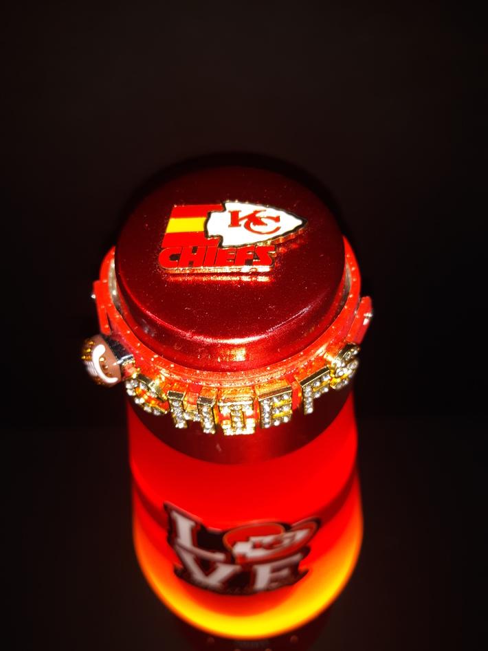 K.C.Chiefs Lava Lamp top