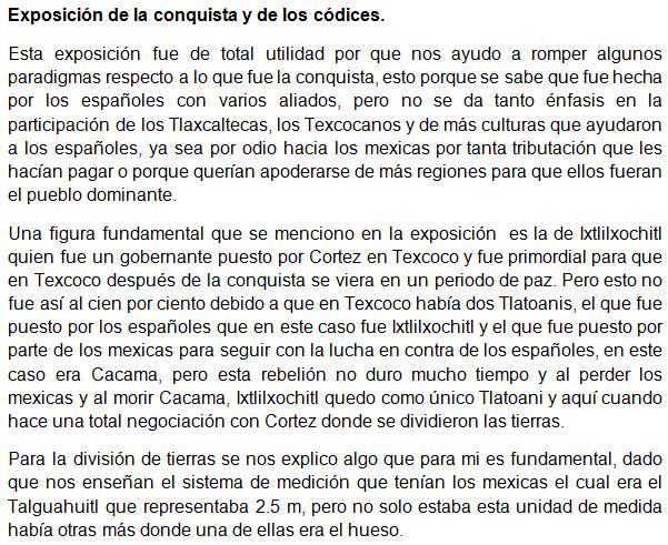 Exposicion conquista y codices 1