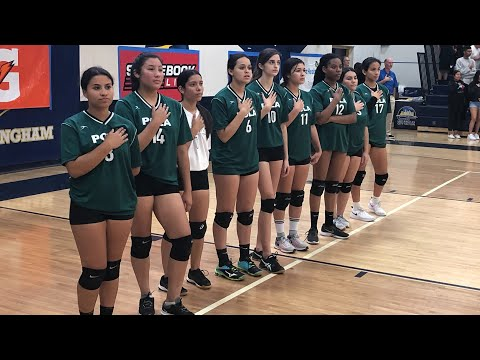 Port Of Los Angeles High Girls Volleyball 2019 Receives Their Just Rewards