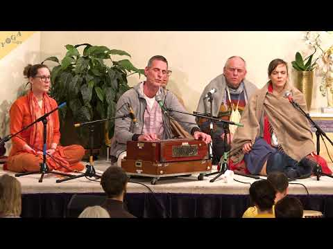Gayatri Mantra chanted by The League of Yogis