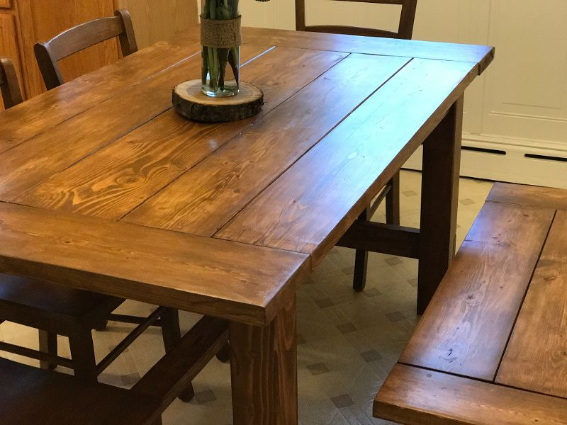 Farm Table and Bench