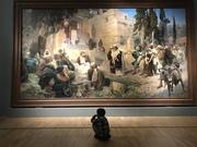 Вечное в моменте.... январь 2020 картина Поленова « Иисус и грешница»
