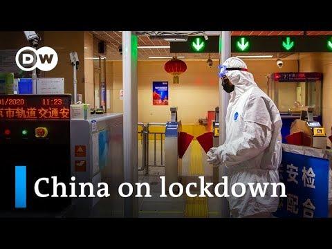China puts millions under lockdown to contain Wuhan coronavirus | DW News