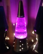 Purple glitter Wizard