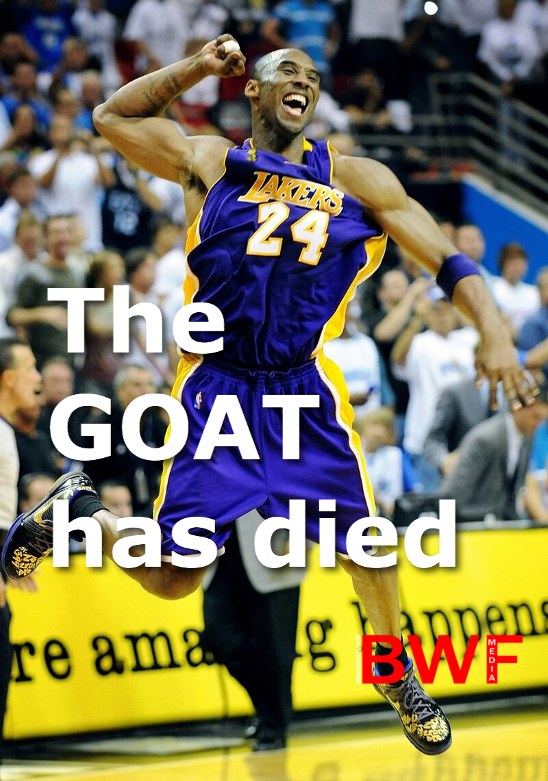 The Goat Kobe Bryant has died in a helicopter crash in Calabasas