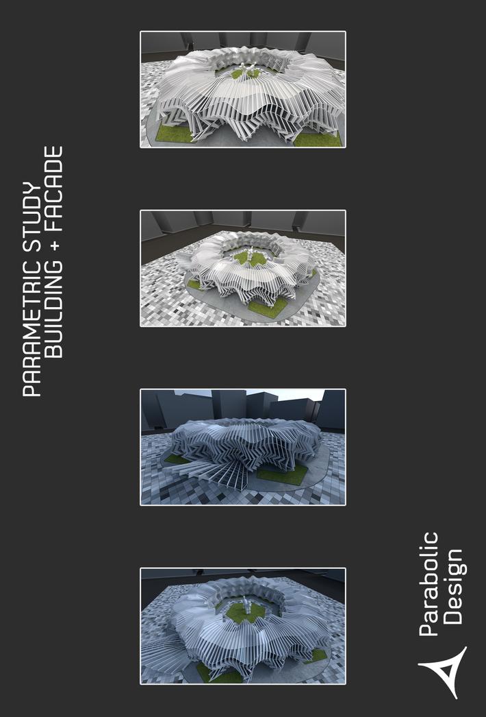PARAMETRIC STUDY BUILDING + FACADE-01
