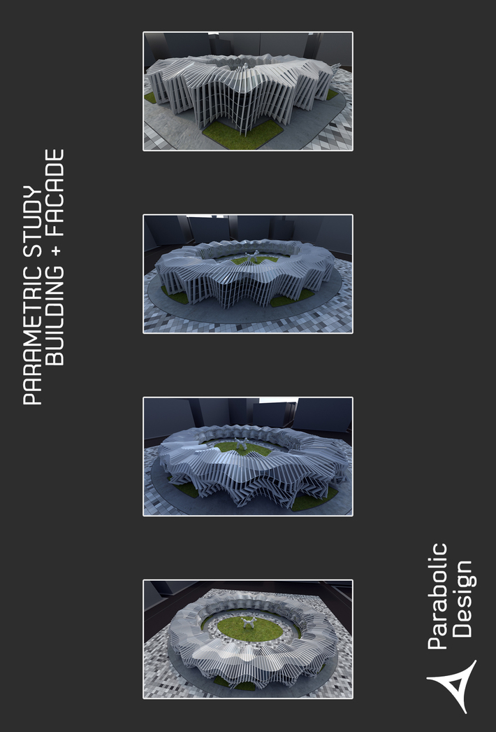 PARAMETRIC STUDY BUILDING + FACADE-05