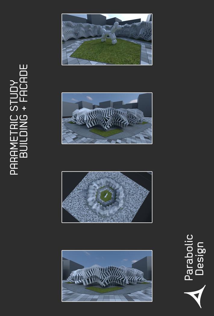 PARAMETRIC STUDY BUILDING + FACADE-02