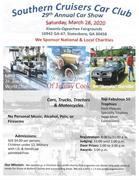 29th Annual Southern Cruisers Car and Truck Show -Statesboro, GA