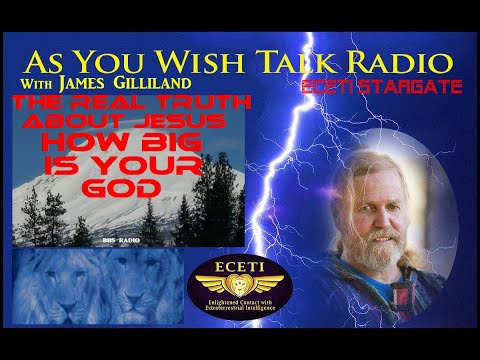 "As You Wish Talk Radio ""The Truth About Jesus, How Big Is Your GOD"""