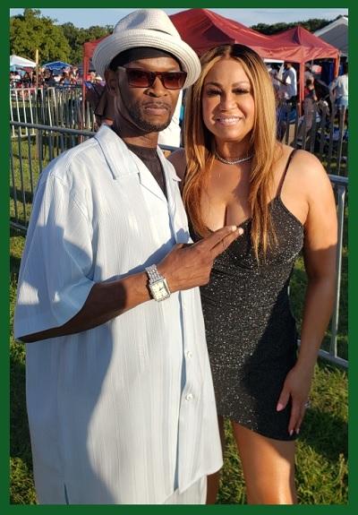 Legendary Singer...Cece Peniston With Corey p.k.a. Magnificent!!
