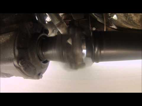 Worn trailing arm bushings recorded  on a go pro camera  63 -64 Cadillac