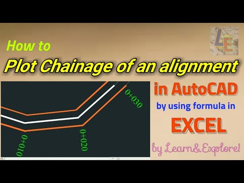 How to Draw Centerline Chainage of an alignment in AutoCAD instantly