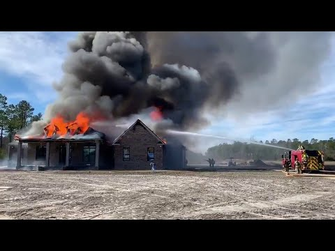 Horry County, SC Fire Rescue, Aynor House Fire