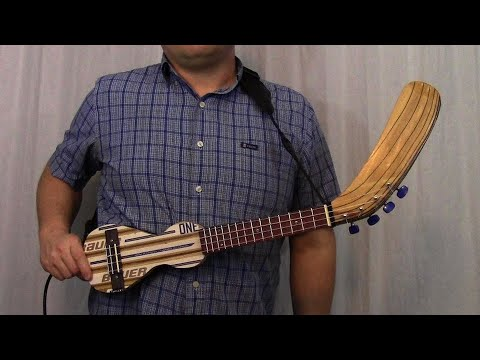 Hockey Stick Ukulele