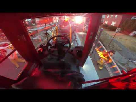 Tiller Cam: Harrisburg City Truck 2 Responing to House Fire