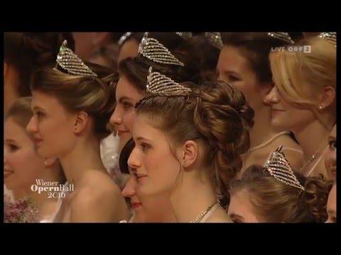 Wiener Opernball 2016 / Vienna Opera Ball 2016 - Die Eröffnung / The Opening