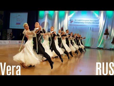 Vera, RUS   2015 European STD Formation   DanceSport Total