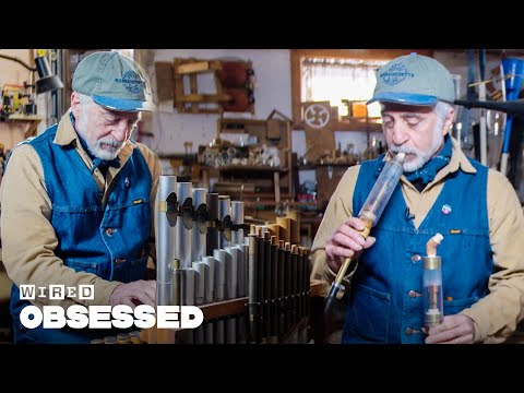 How This Guy Makes DIY Musical Contraptions | Obsessed | WIRED