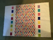 Reverse Side of charity quilt.