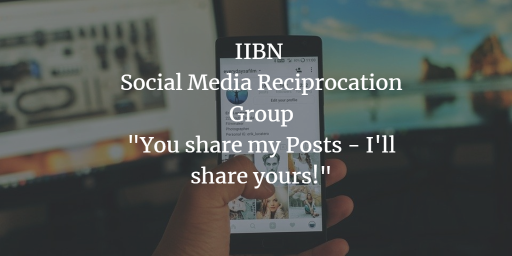 Looking for Followers, Likes, Shares or Comments? Join our Social Media Reciprocation Group!