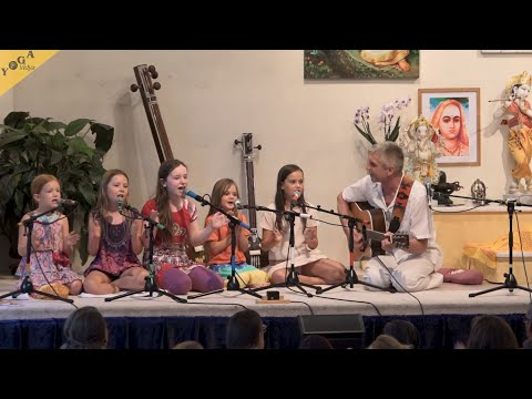 Kids Chanting Ganesha Sharanam Sharanam Ganesha  with Keval