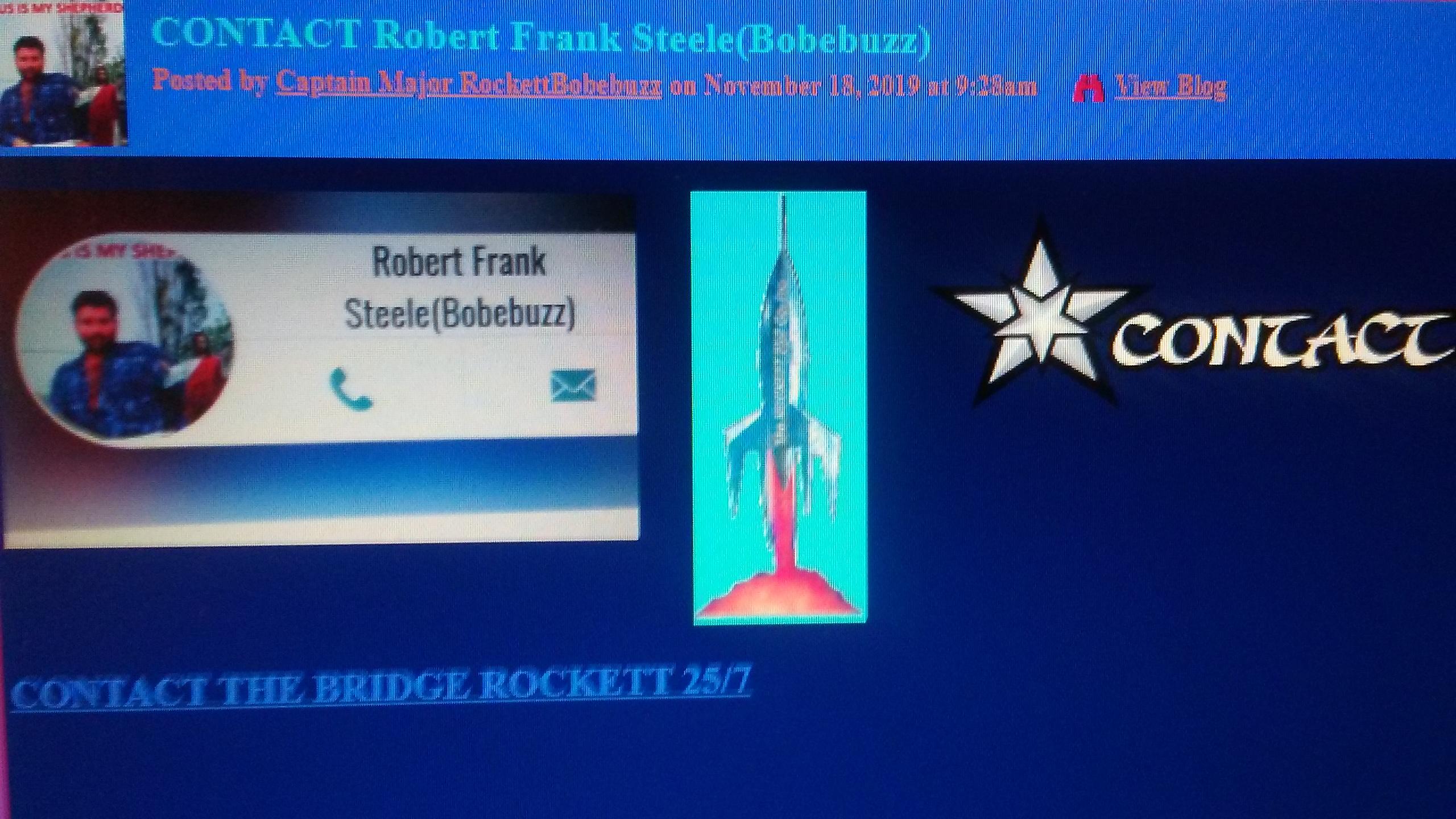 ROCKETT 25/7 CONTACT Captain Major RockettBobebuzz