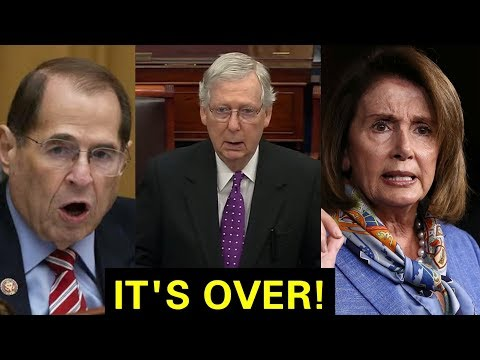 """""""IMPEACHMENT IS OVER"""" MITCH MCCONNELL SENDS SHOCKWAVES TO ENTIRE DEMOCRATS"""