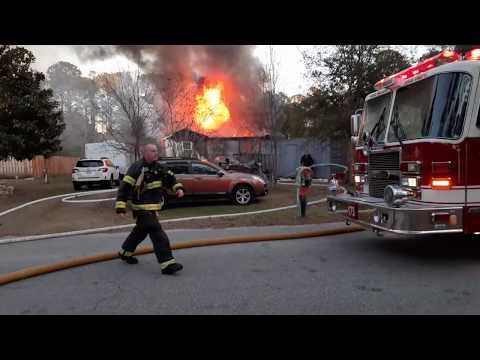 North Carolina House Fire