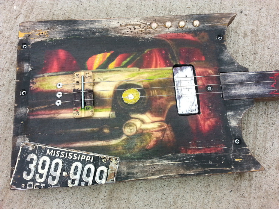 swamp witch guitar 57 chevy 5