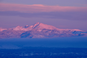 Snowy sunrise on Mt. Meeker  ©Ann Duncan