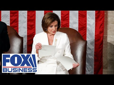 GOP resolution calls to condemn Pelosi for ripping up SOTU speech