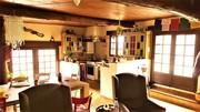 Keukenhoek in woonkamer