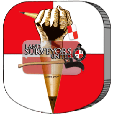 Land Surveyors United - Global Surveying Community Logo