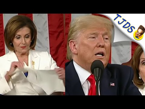 Pelosi Applauds Trumps Imperialism / Militarism At SOTU