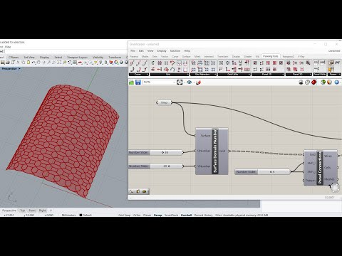 Grasshopper 3D Tutorial: Custom 2D Patterns using Grids