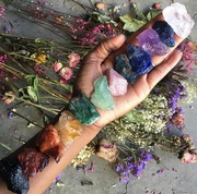 THE MAGICAL WORLD OF CRYSTALS