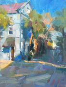 """Larry Moore """"Abstracting the Landscape"""" Plein Air"""
