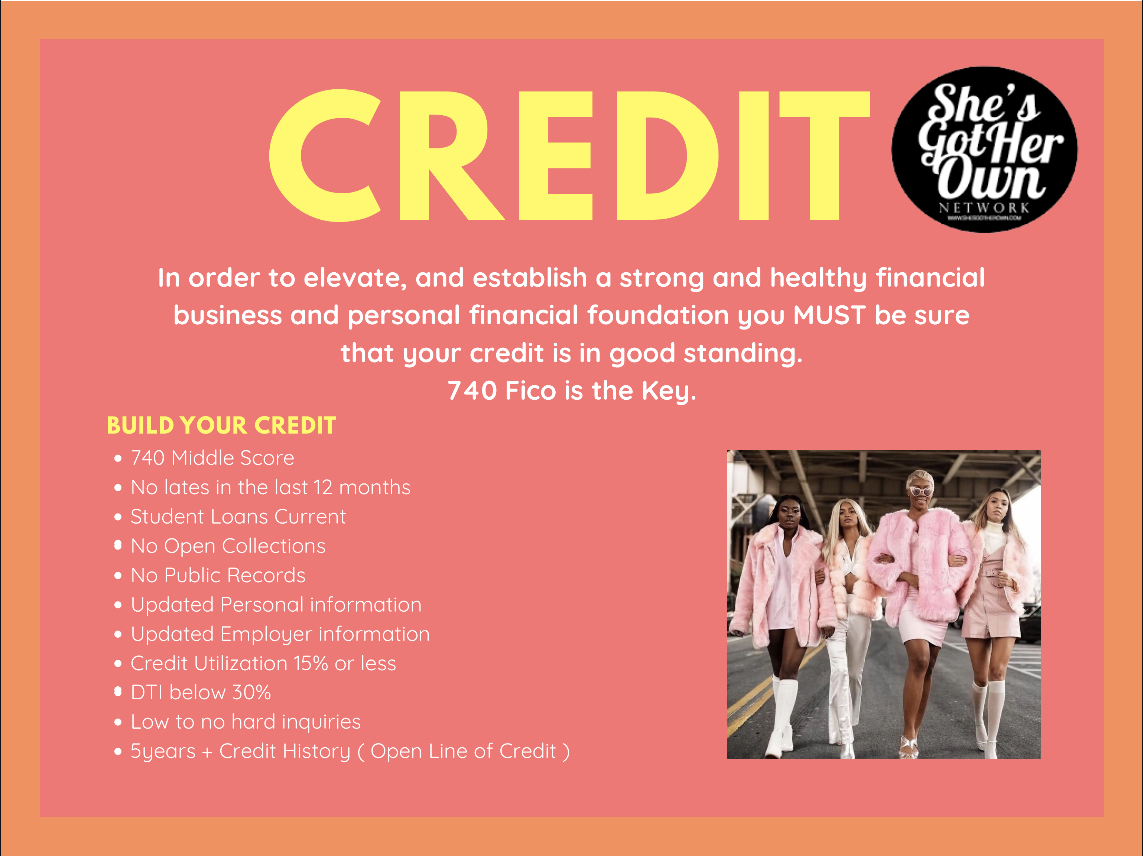 Credit FACTS...