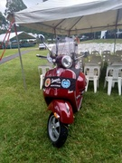One lonely Vespa at Mirboo North!