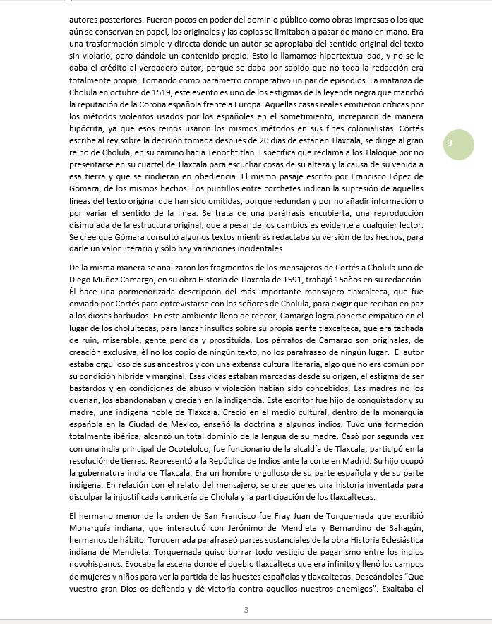 Los mensajeros de Cortés 3